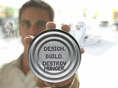 Design. Build. Destroy Hunger.
